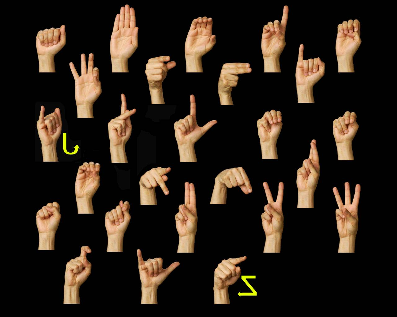 Sign Language this for that