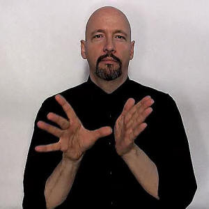 how to say would in sign language