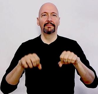 quotadoptquot american sign language asl