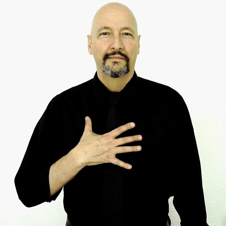 """like"" American Sign Language (ASL"
