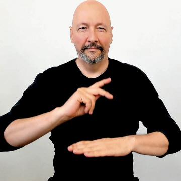 """principal"" American Sign Language (ASL)"
