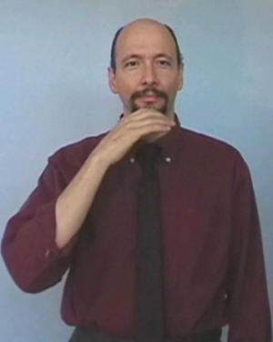 Santa In American Sign Language Asl