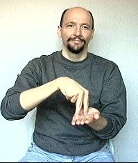 stand american sign language asl. Black Bedroom Furniture Sets. Home Design Ideas