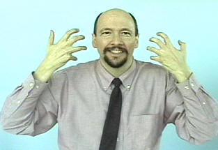 Tiger American Sign Language Asl