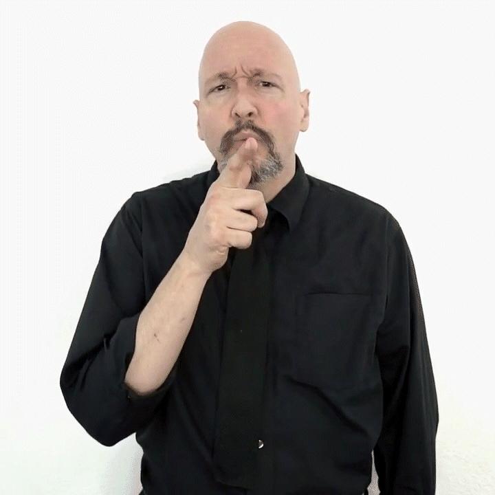 """who"" American Sign Language (ASL"