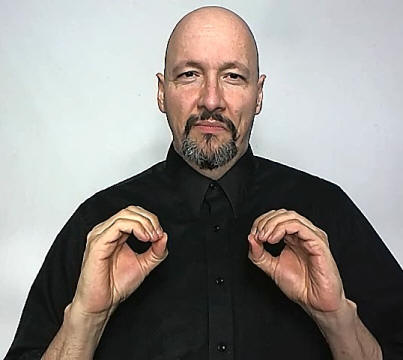 """zero"" American Sign Language (ASL)"