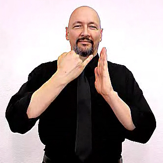 """draw"" American Sign Language (ASL)"