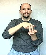 """fall"" American Sign Language (ASL)"
