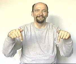 "Immediate Credit Card >> ""here"" American Sign Language (ASL)"