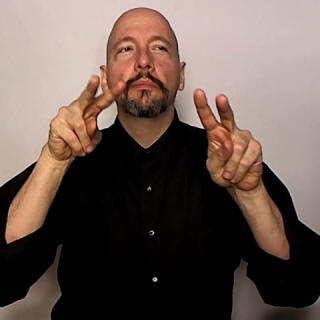"""look-around"" American Sign Language (ASL)"