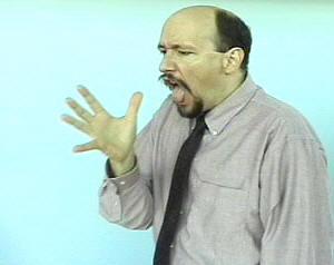 quotvomitquot american sign language asl