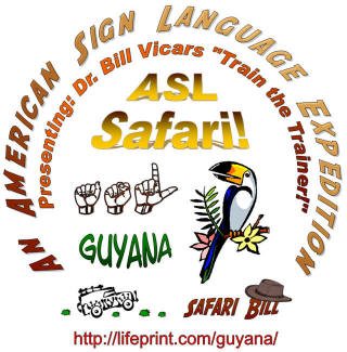 An ASL expedition to Guyana, South America.